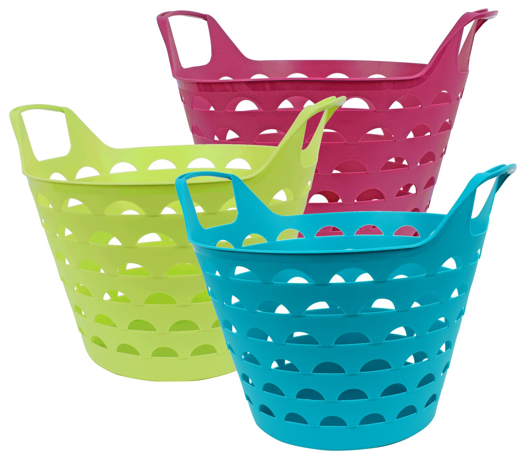 Flexi-Basket, 31 x<br> 40 x 34 cm, 14 L,<br>colored sort.