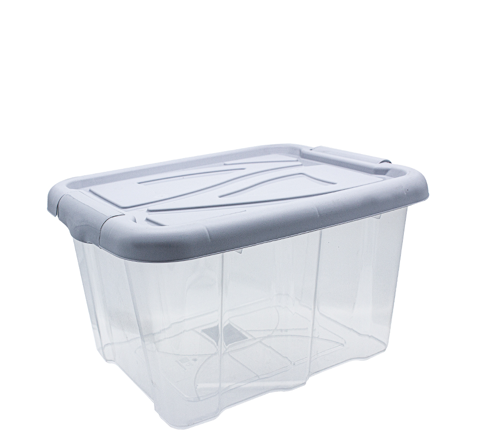 Box with lid, 30<br> liter, 26 x 49 x<br>39 cm, Blue