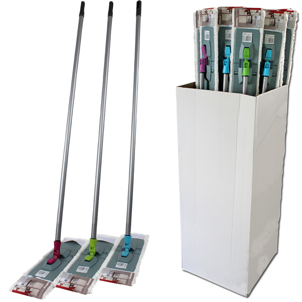Floor Cleaning<br> Set, 3-piece,<br>display carton,