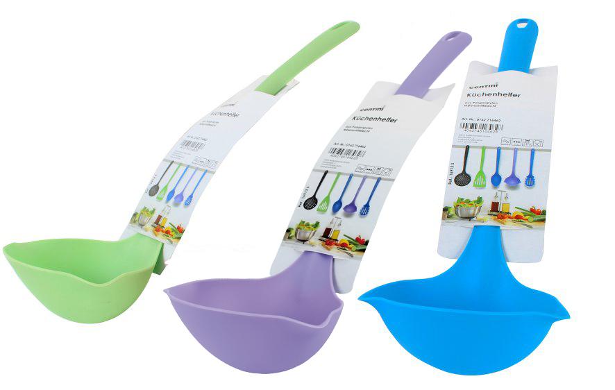 Kitchen Gadgets,<br> ladle, 30 x 11 x 8<br>cm, colored