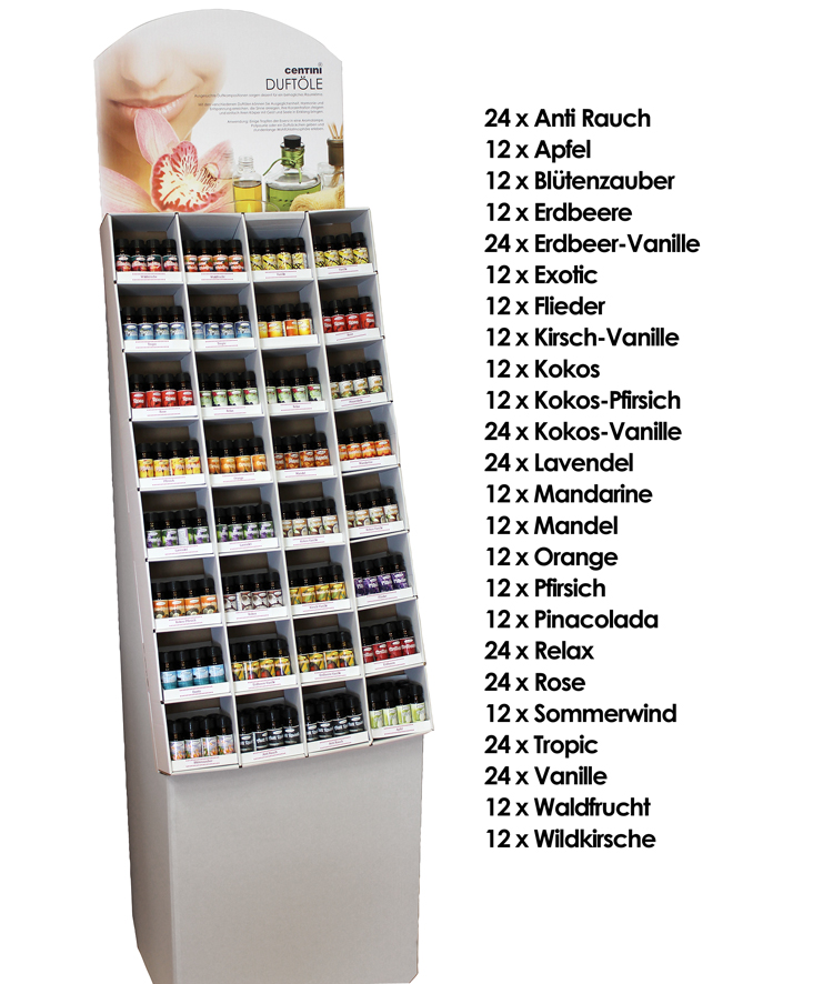 Fragrance oil in<br> the display Full<br>year, 10 ml,