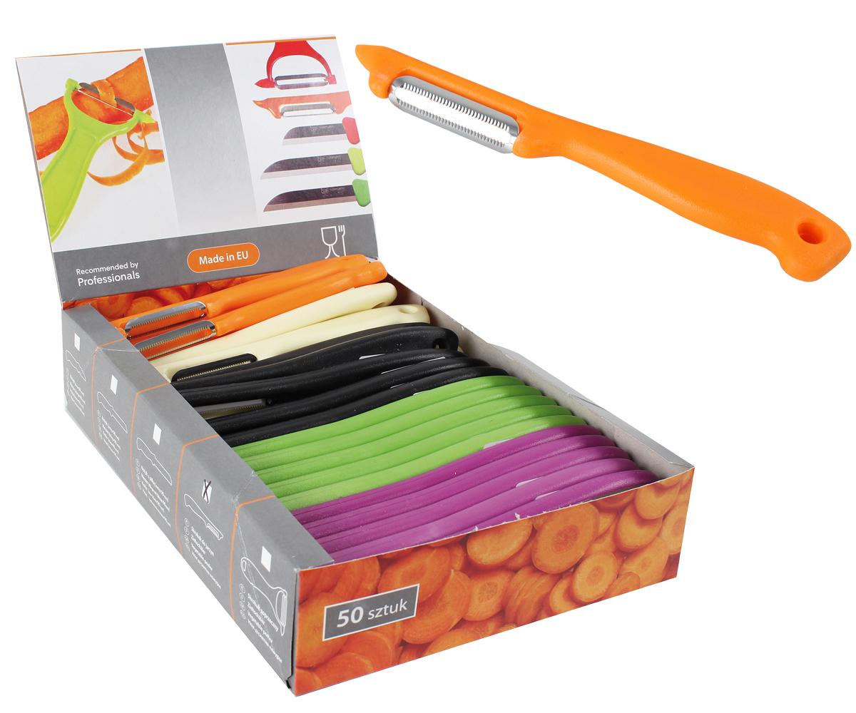 Peeler in display<br>box, blade 4,5 cm,