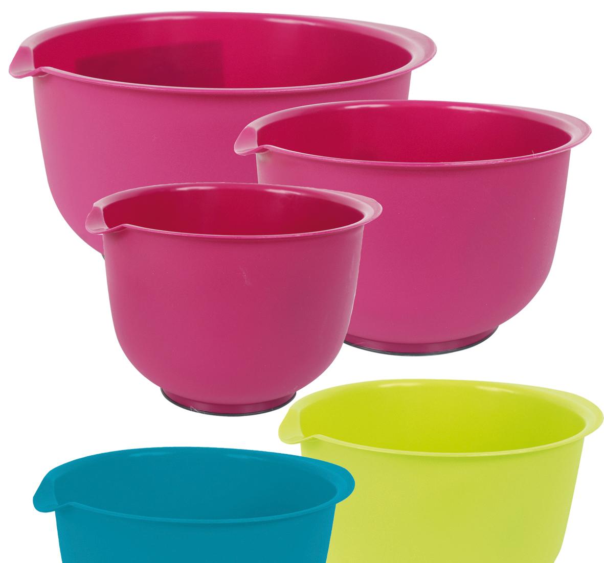 Mixing Bowls, Set<br> of 3, 3 L / 2 L /<br>L 1,