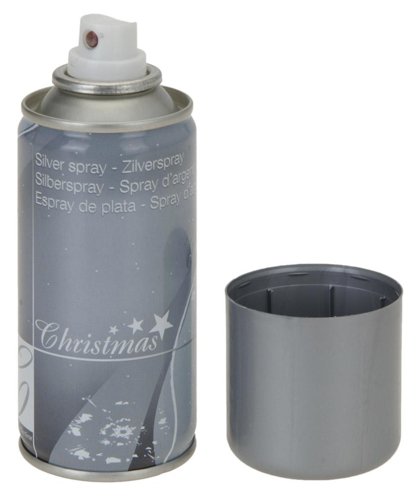 Deko-Spray SILBER,<br>150ml, Sprühflasche