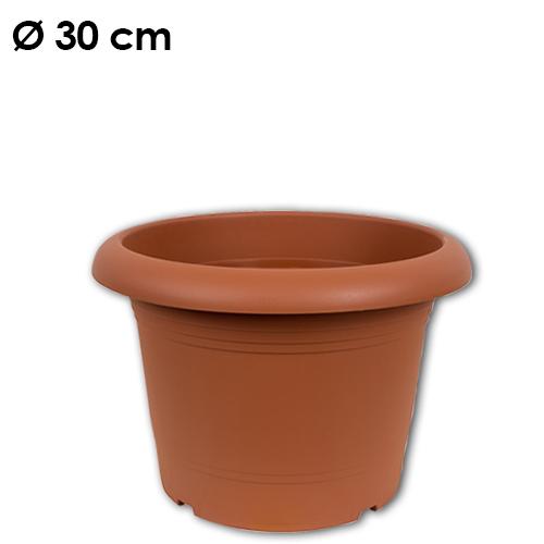 Pflanzkübel<br> Zylinder, d= 30<br>cm, Terracotta