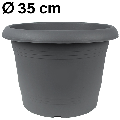 Pflanzkübel<br> Zylinder, d= 35<br>cm, Anthrazit