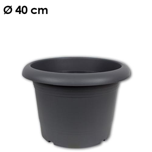Pflanzkübel<br> Zylinder, d= 40<br>cm, Anthrazit