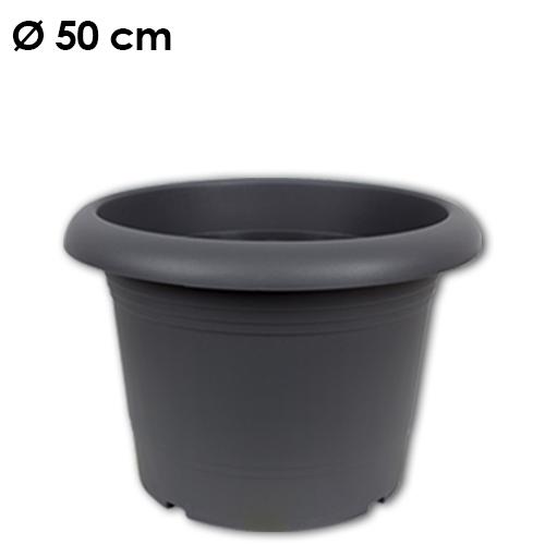Pflanzkübel<br> Zylinder, d= 50<br>cm, Anthrazit