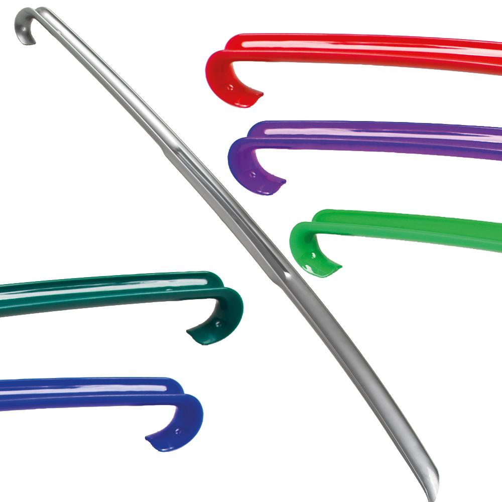 Łyżka do butów<br> XXL, 64 x 4,5 x 4<br>cm, asstd kolory.