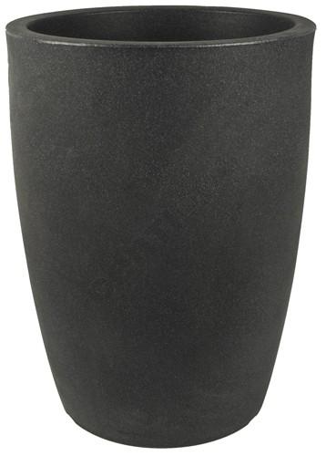 Pflanzkübel<br> VERONA, d= 30 cm,<br>Schwarz-Granit,