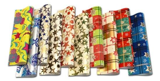 Geschenkpapier<br> Weihnachten 2m x<br>0,70m, Serie 6,